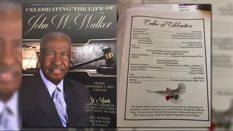 John Walker Funeral