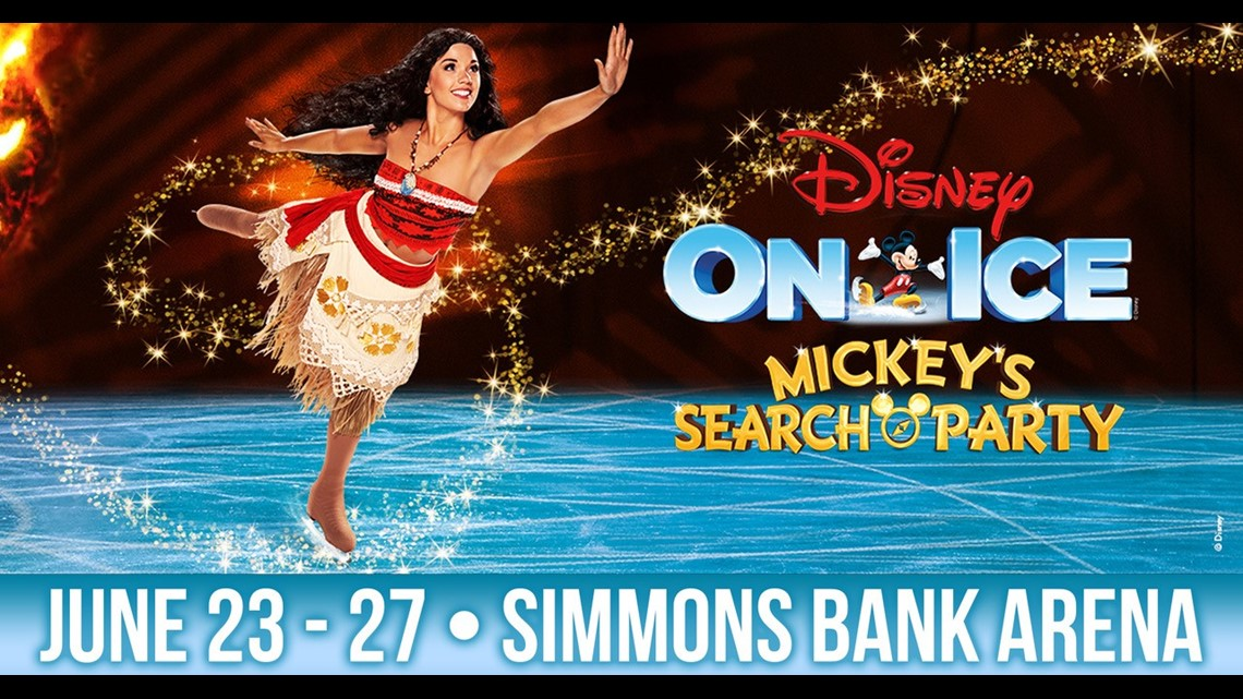 'Disney On Ice presents Mickey's Search Party' brings the magic to Simmons Bank Arena