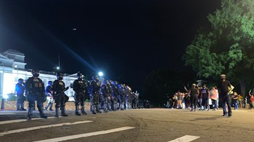 79 people arrested after 4th day of protests in Little Rock