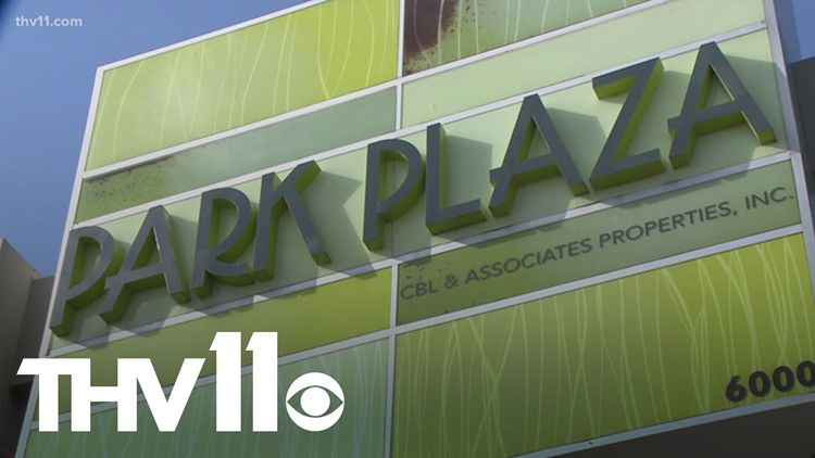 Little Rock's Park Plaza Mall placed under foreclosure order