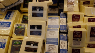 American surplus of cheese reaches record high of 1.4 billion pounds