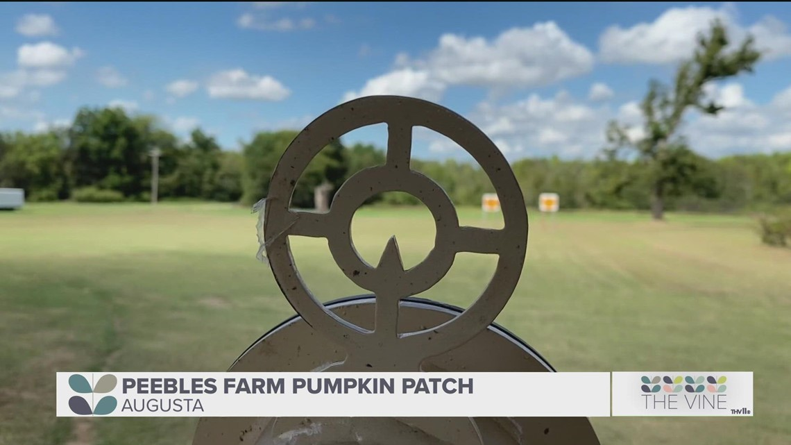 Try the new pumpkin blaster and more at Peebles Farm Pumpkin Patch
