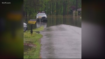 Arkansas residents' yards recovering after heavy flooding