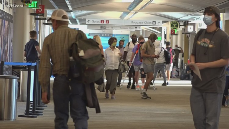 Clinton National Airport hosting job fair due to influx of passengers