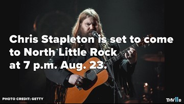 Chris Stapleton comes to North Little Rock