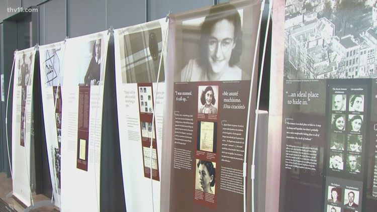 Two Anne Frank exhibitions opening tonight