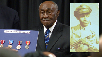 99-year-old Arkansas veteran awarded five overdue WWII medals