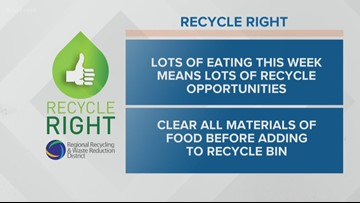 Recycle Right: Week 38, Tip 1