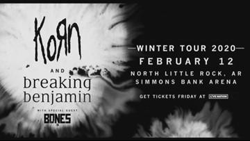 Korn and Breaking Benjamin coming to Arkansas