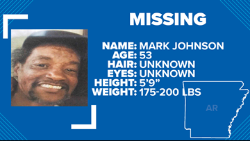 LRPD locates missing 53-year-old Mark Johnson