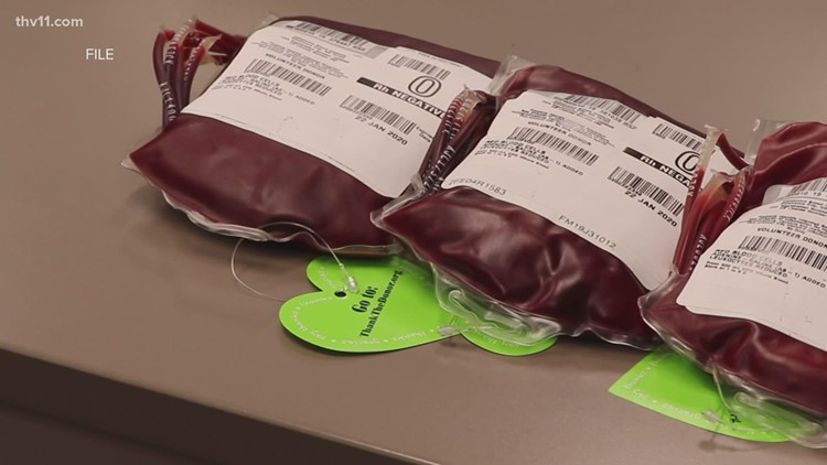 Arkansas in serious need of blood donations