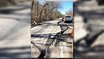 Independence County deputies ask motorists to drive with caution after highway 14 road hazard