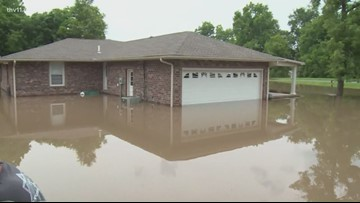 Three generations of Arkansans impacted by once in a generation historic flooding