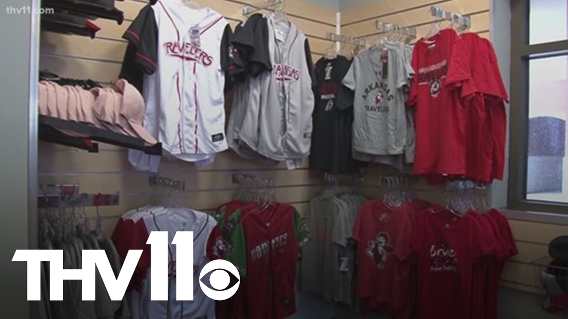 The Arkansas Travelers have the best gear in town!
