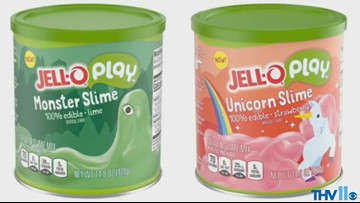 Jell-O edible slime, Sour Patch cereal, Hot Spring Annual Holiday Lights | Midday Minute Nov. 16