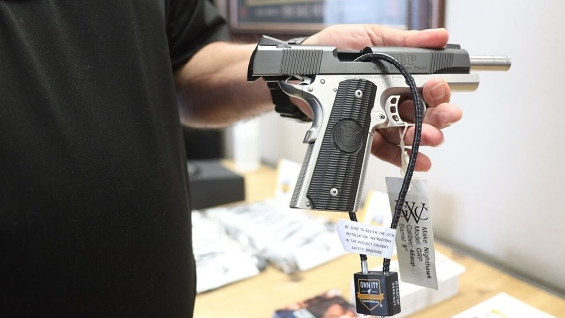 Little Rock police providing gun locks to encourage firearms safety