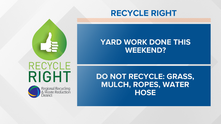 Recycle Right Tips   Week Forty-nine
