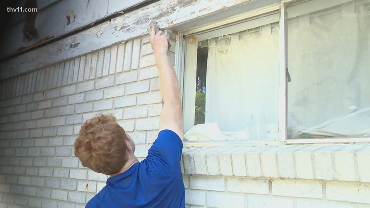 World Changers repairing Little Rock one house at a time