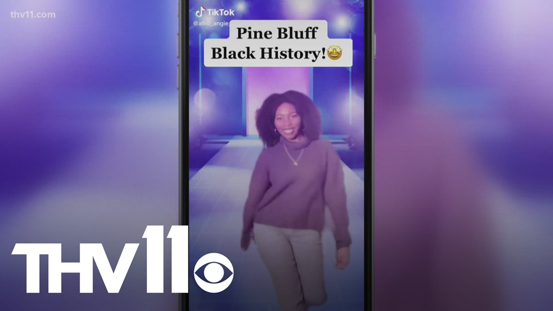 Pine Bluff woman goes viral after sharing black history on TikTok