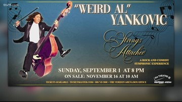 Weird Al Yankovic coming to NLR