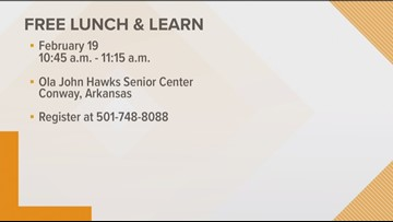 Free lunch and learn in Conway for osteoarthritis