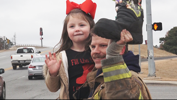 Bryant firefighters 'Fill the Boot' for child living with muscle disease
