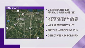 Victim identified in Pine Bluff homicide