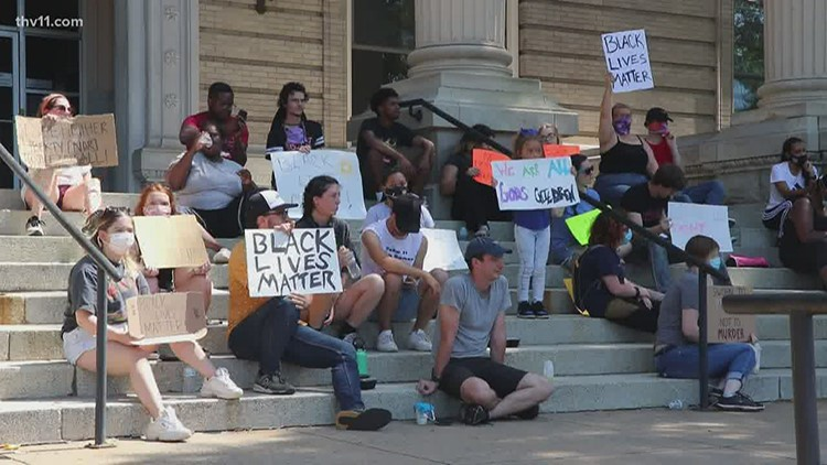 'We're going to keep going' | Peaceful protesters sparking change in Little Rock