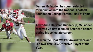 McFadden selected for College Football Hall of Fame