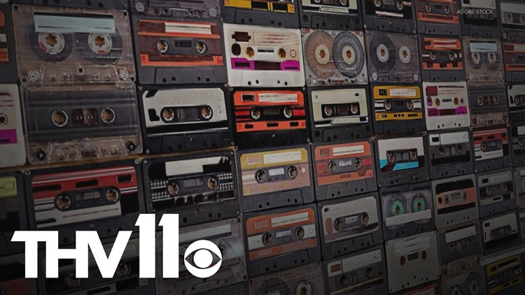 Arkansas record shop sees growing demand for cassette tapes