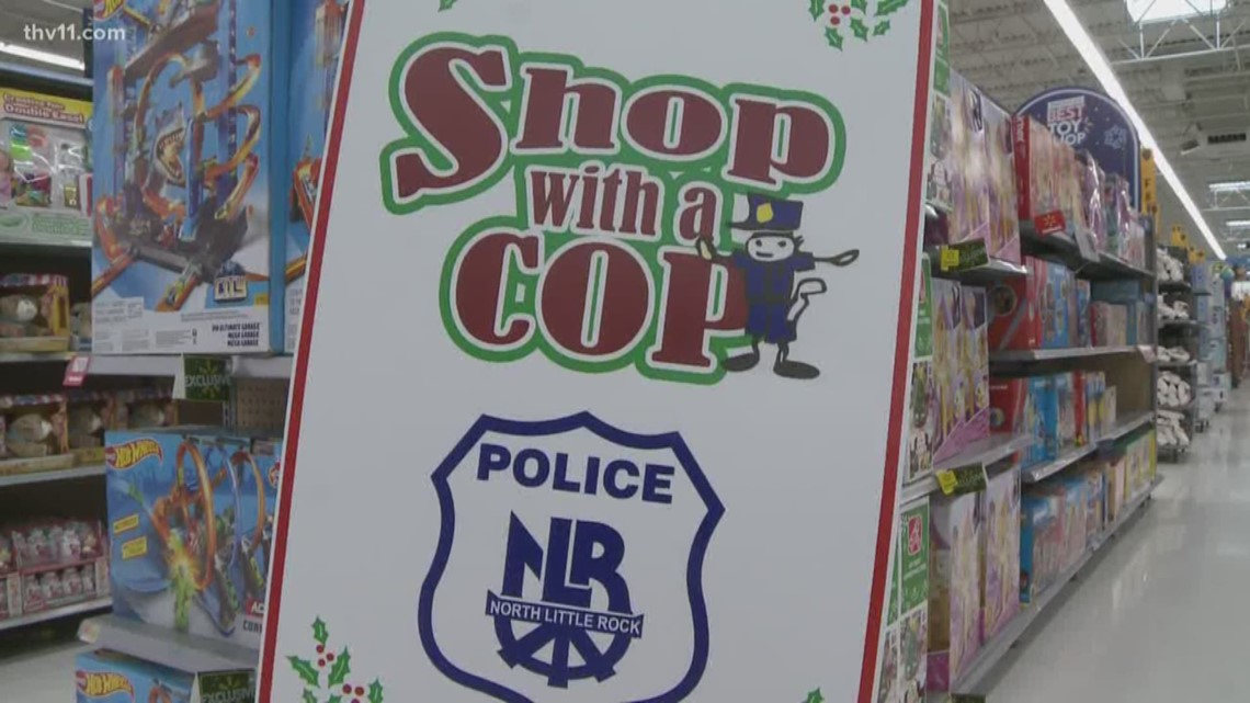 North Little Rock kids 'Shop with a Cop'