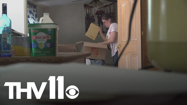 Saline County family devastated by recent flooding in the area