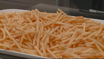 Weather conditions could cause nationwide french fry shortage