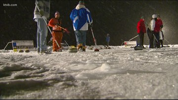 Stanley, Idaho: One of the few places in America home to an outdoor curling competition