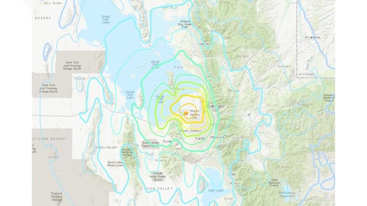 Strong 5.7-magnitude earthquake hits Salt Lake City