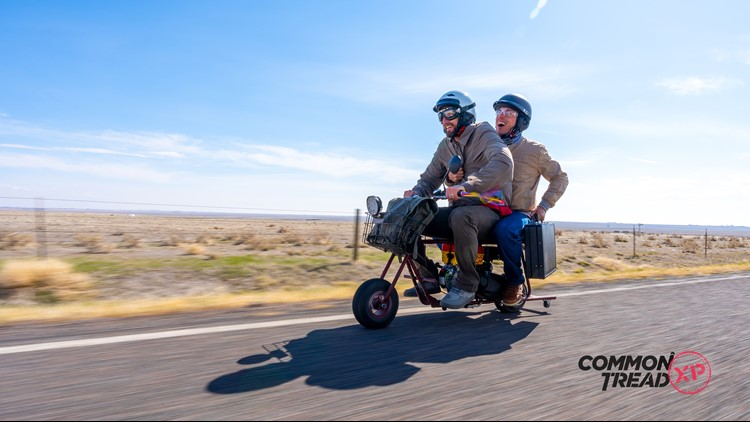 YouTubers built replica of 'Dumb and Dumber' mini-bike, retrace ride from Nebraska to a little place called Aspen