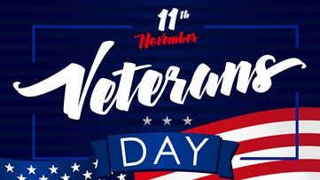 Check out these Veterans Day deals, events in central Arkansas