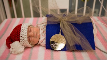 The tiniest babies celebrate the holidays at Children's Hospital in Colorado