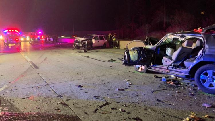 Woman dies after hitting deer in Colorado, 9 others injured in chain-reaction crash
