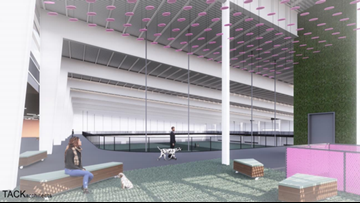 One of the largest indoor dog parks is coming to Texas