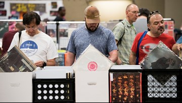 Largest vinyl record sale in the U.S. happening in Texas again this May