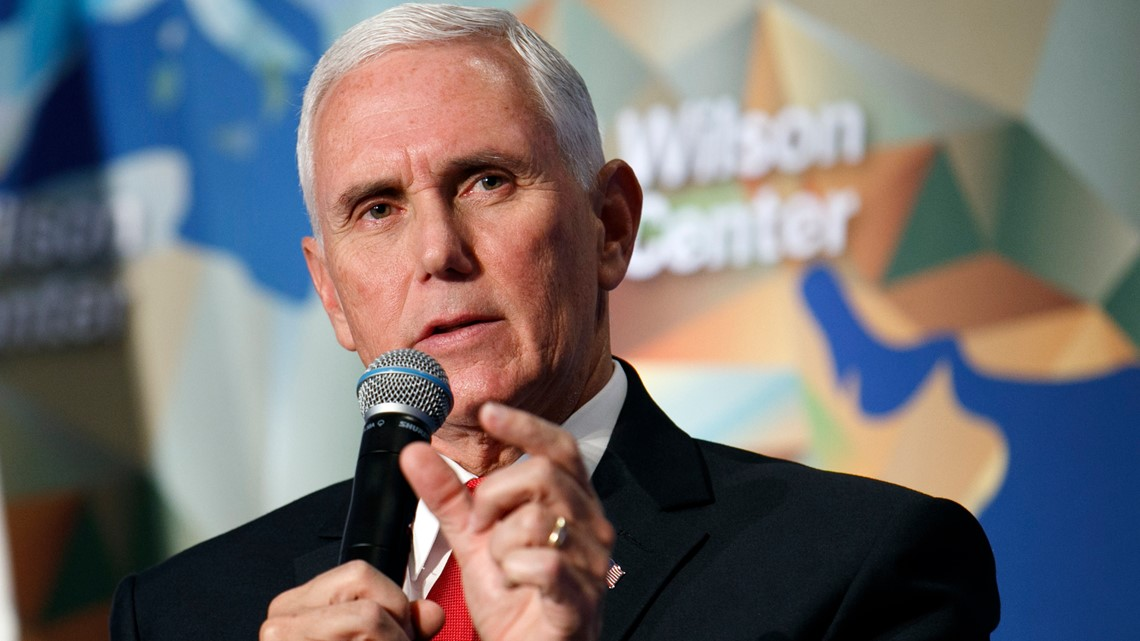 Pence takes swipe at NBA, Nike in critical speech on China