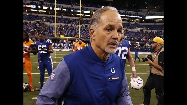 The Colts fired Chuck Pagano as head coach on Sunday, marking an end to his six-year run that was capped by a tumultuous season.
