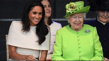 Meghan Markle's first solo trip with queen begins with ride on Royal Train
