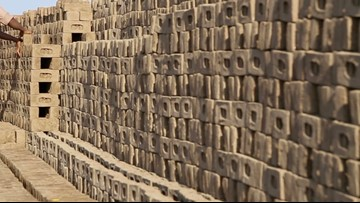Chinese Villages Cut Themselves Off From the World with Makeshift Brick Walls in Efforts to Ward off the Coronavirus