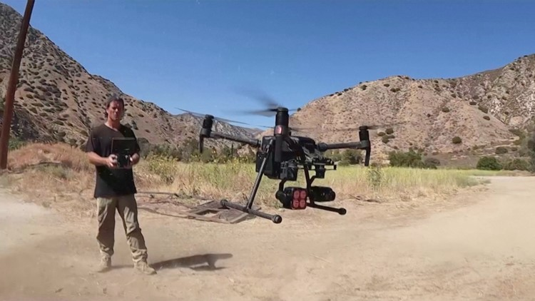 This Man Saves Animals with a Drone
