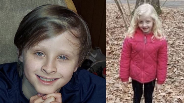 10-year-old boy dies trying to save 6-year-old sister when they fell through ice