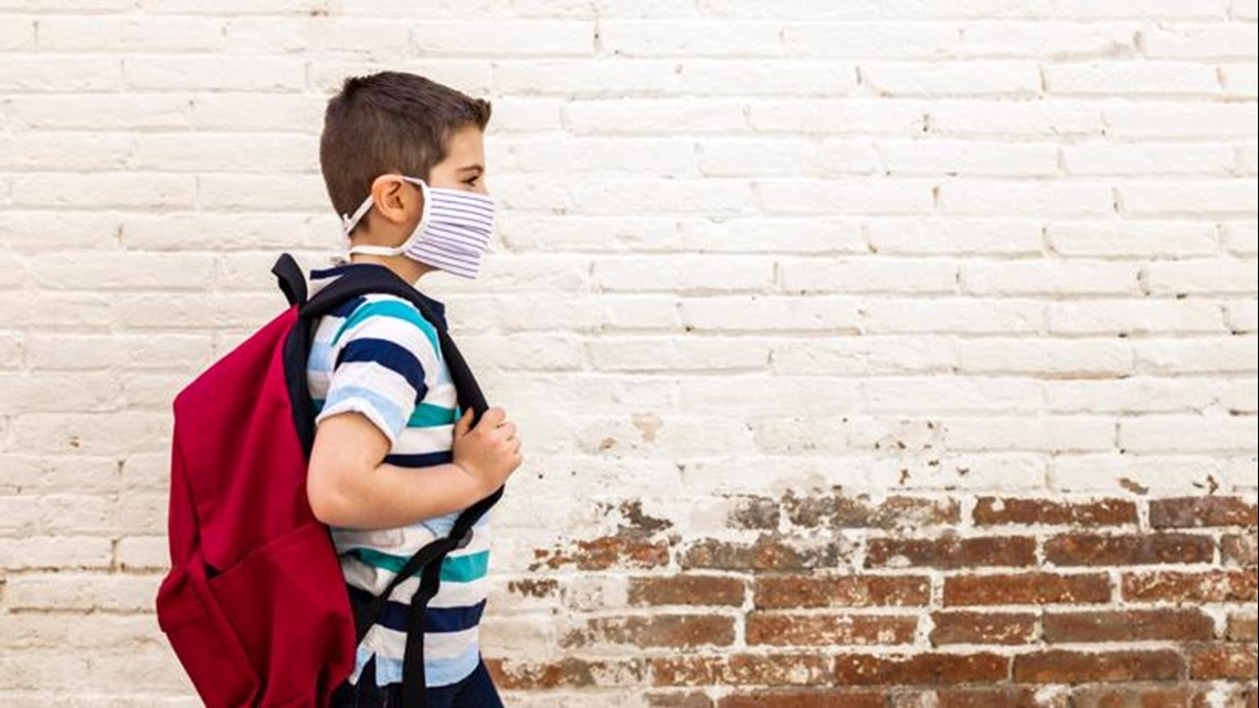 Arkansas schools say kids coming to class with 'filthy' masks