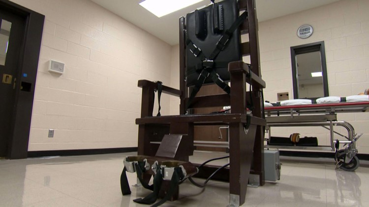 Electric Chair execution Riverbend Nashville Tennessee