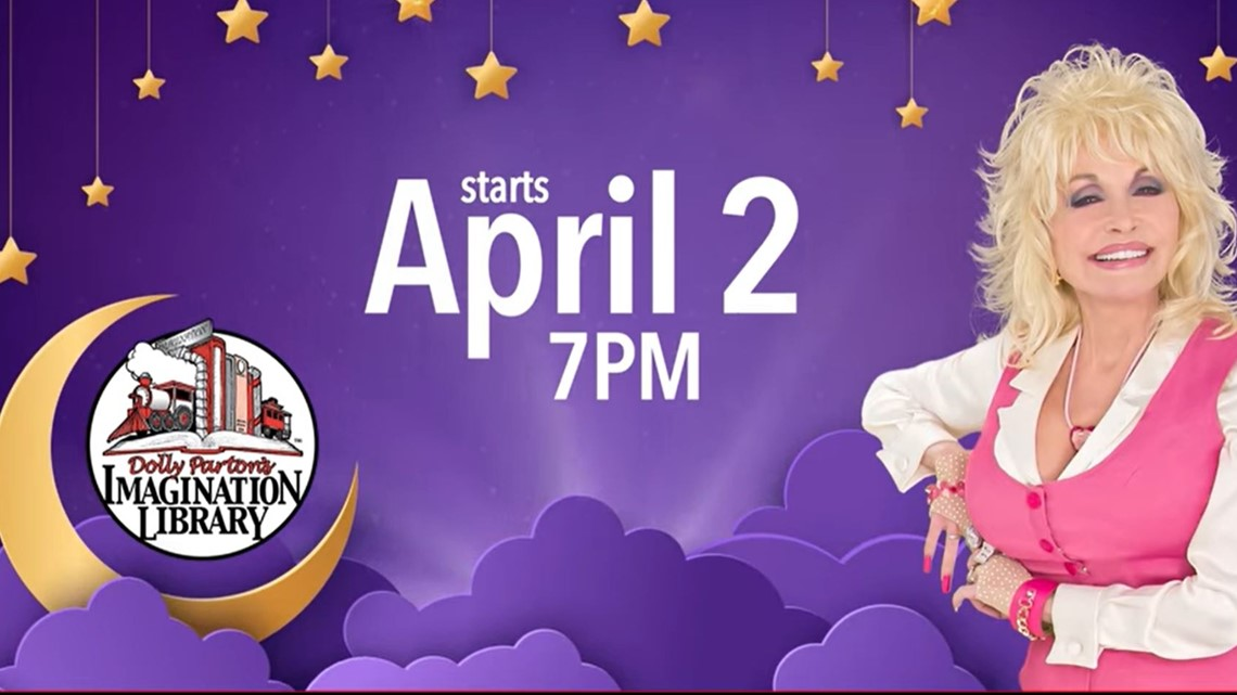 Tonight! Dolly Parton will be reading bedtime stories for your kids